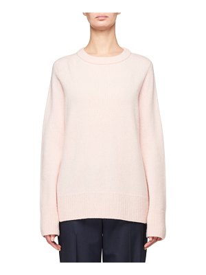 The Row Sibina Wool-Cashmere Crewneck Sweater