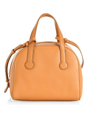 The Row sporty bowler 9 leather bag