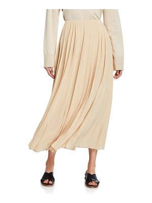 The Row Sulu Pleated Midi Skirt