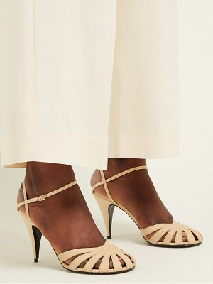 The Row tango cut out leather sandals