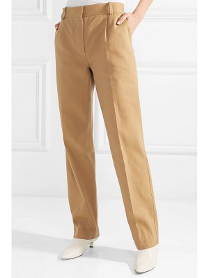 The Row thea linen and cotton-blend pants