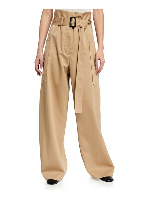 The Row Timothy Paperbag Wide-Leg Pants