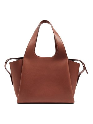 The Row tr1 folded leather bag
