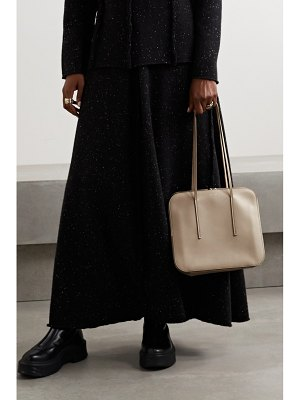 The Row tr3 leather shoulder bag