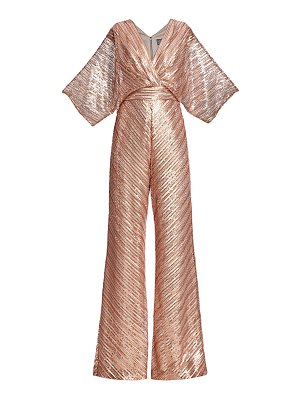 Theia sequin embroidered jumpsuit