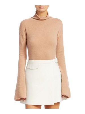 Theory bell sleeve mockneck top