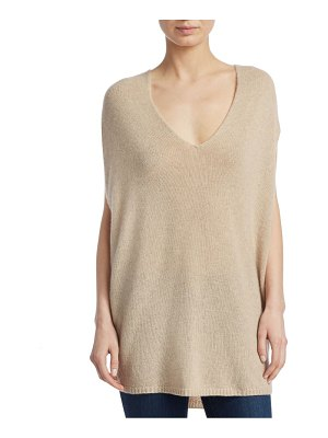 Theory cashmere v-neck cape
