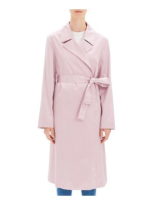 Theory Chintz Cotton Belted Trench Coat