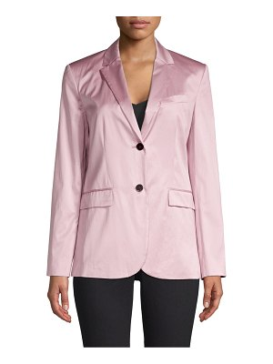 Theory chintz single-breasted blazer