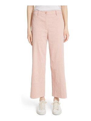 Theory fluid wide leg crop pants