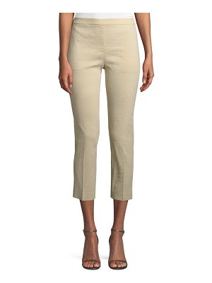 Theory Organic Crunch Basic Pull-On Pants