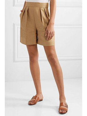 Theory pleated woven shorts