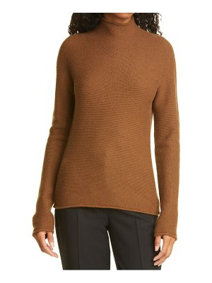 Theory seamless turtleneck cashmere sweater