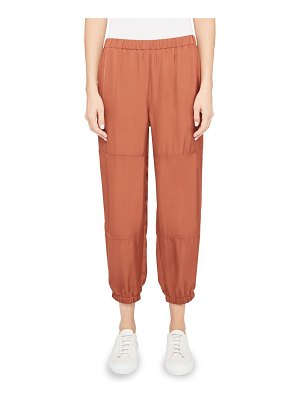 Theory slim-fit twill cargo pants
