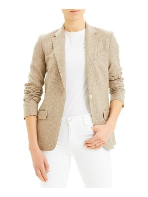 Theory staple wool & silk blend blazer