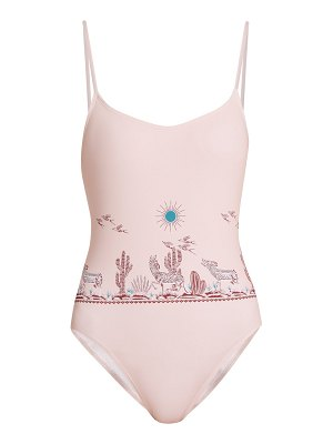 Thorsun Billy graphic-print swimsuit