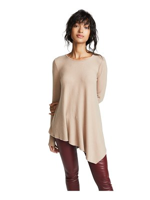 Three Dots asymmetrical tunic sweater