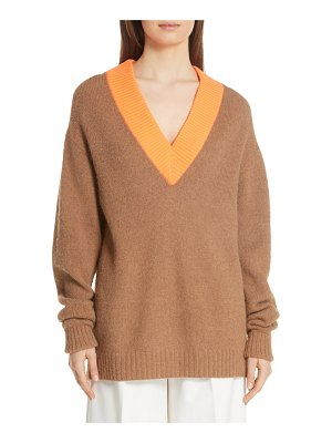 Tibi airy alpaca blend sweater