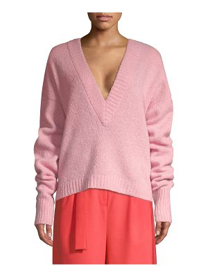 Tibi airy alpaca sweater
