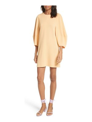 TIBI Balloon Sleeve Mini Dress
