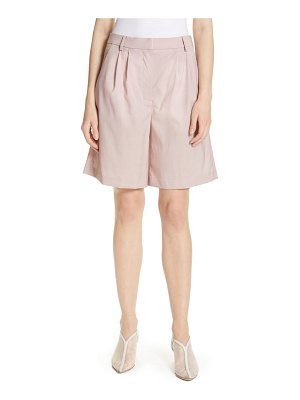 Tibi cross dye stretch wool shorts