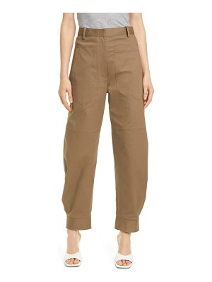 Tibi myriam sculpted stretch twill pants