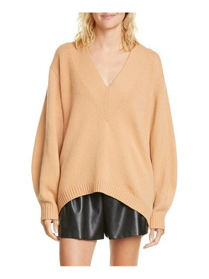 Tibi oversize merino wool blend high/low sweater
