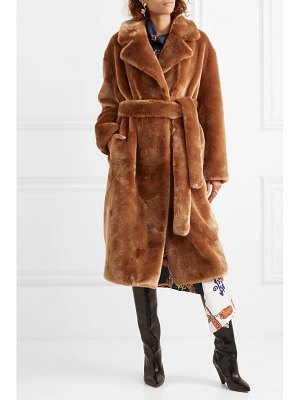 Tibi oversized faux shearling coat