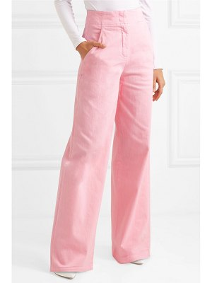 Tibi stretch-cotton wide-leg pants