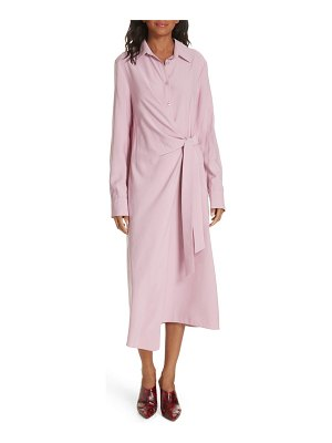 Tibi twill shirtdress