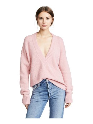 Tibi v neck pullover sweater