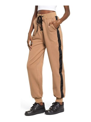 tiger Mist pacifica side stripe jogger pants