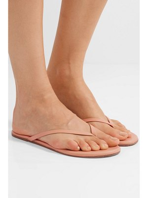 TKEES lily matte-leather flip flops