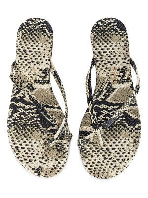 TKEES riley exotic flip flop