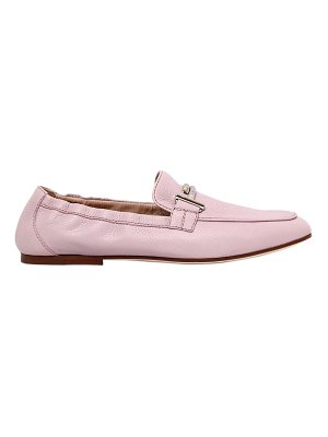 Tod's 10mm double t soft leather loafers