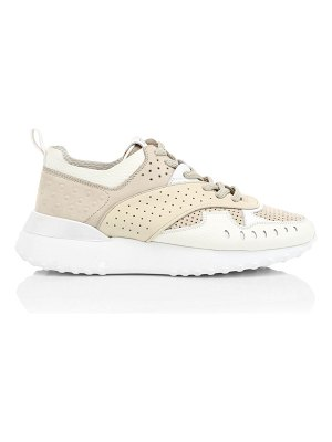 Tod's perforated leather sneakers