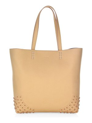 TOD'S Gommini Wave Leather Tote Bag