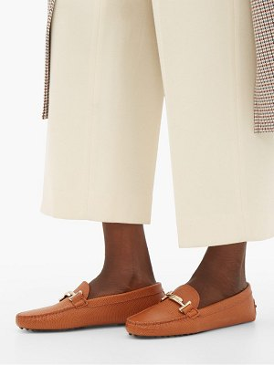 Tod's gommino pebbled-leather loafers