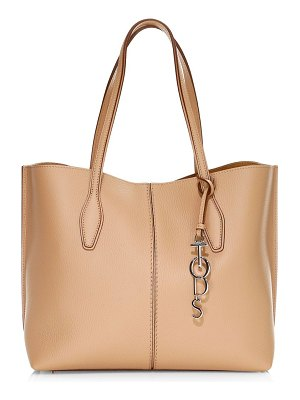Tod's medium joy hammered leather tote