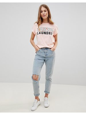 Tokyo Laundry Katie T Shirt with Floral Placement
