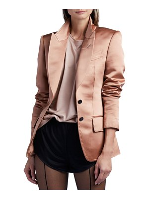 Tom Ford 2-Button Jacket In Double Silk Duchesse