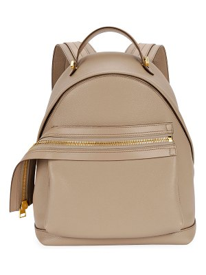 Tom Ford Big Zip Epson Grain Backpack