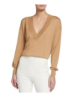 Tom Ford Cashmere Silk V-Neck Sweater