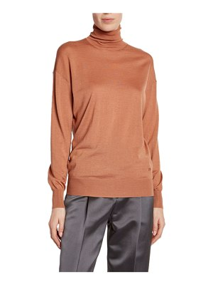 Tom Ford Cashmere/Silk Knit Long-Sleeve Turtleneck Sweater