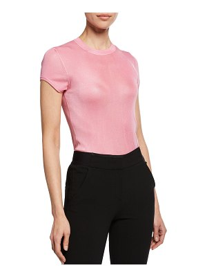 Tom Ford Crewneck Short-Sleeve Knit Muscle Tee