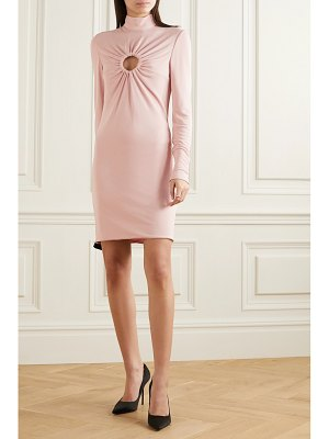 Tom Ford cutout stretch-crepe mini dress