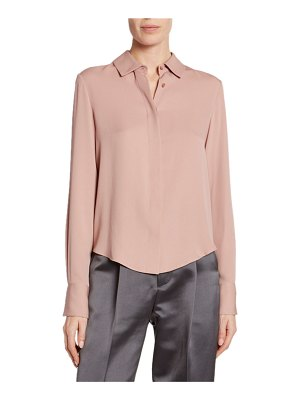 Tom Ford Double Georgette Blouse