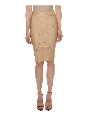 Tom Ford Draped Knee-Length Skirt