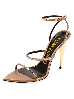 Tom Ford Embellished Pointed-Toe Sandals