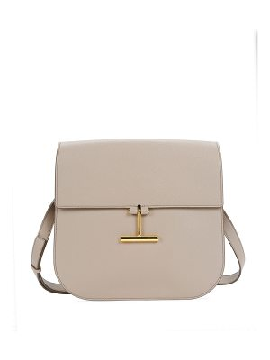 Tom Ford Large Tara T Clasp Shoulder Bag